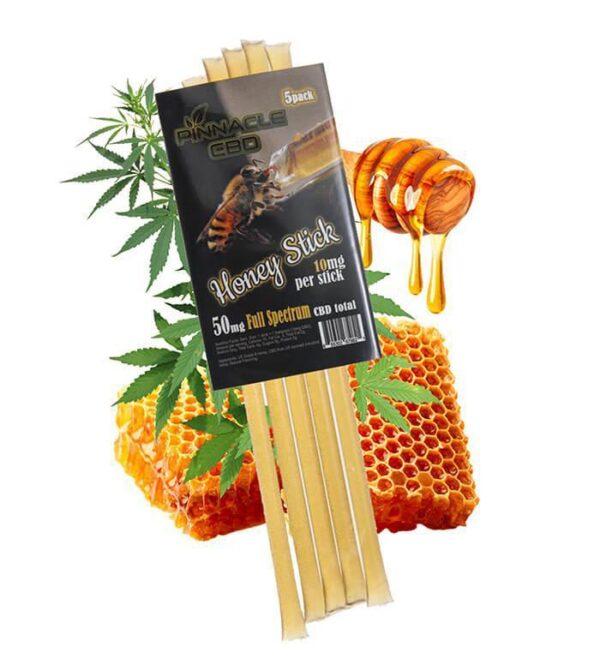 Pinnacle CBD Infused Honey Sticks