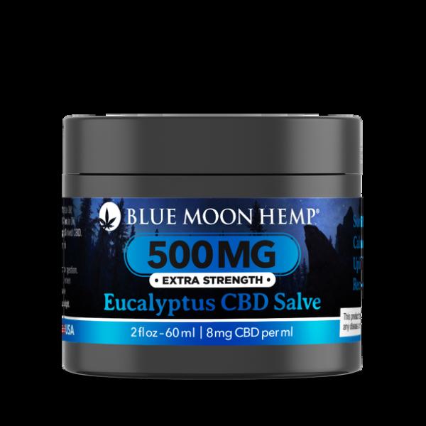 Blue Moon Hemp Eucalyptus CBD Salve