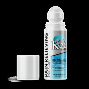 Koi Pain Relieving Broad Spectrum CBD Roll-On Gel
