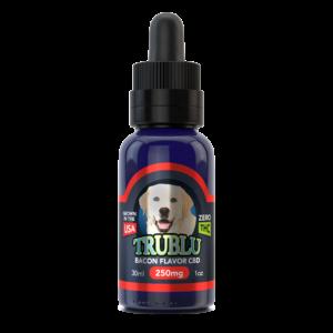 Trublu Bacon Flavored CBD Oil for Dogs 250mg