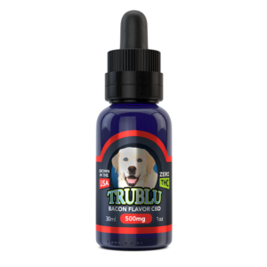 Trublu Bacon Flavored CBD Oil for Dogs 500mg
