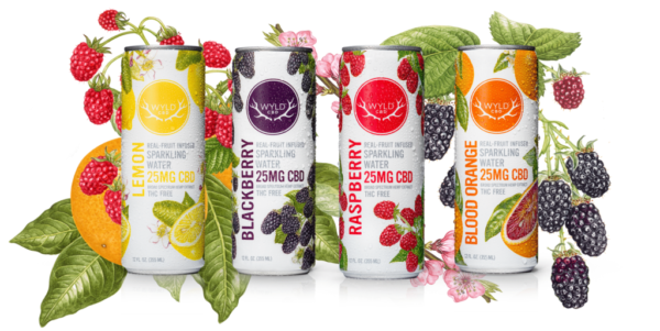WYLD CBD Infused Sparkling Water