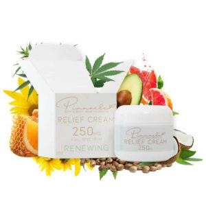 Pinnacle Renewing CBD Relief Cream 250 mg